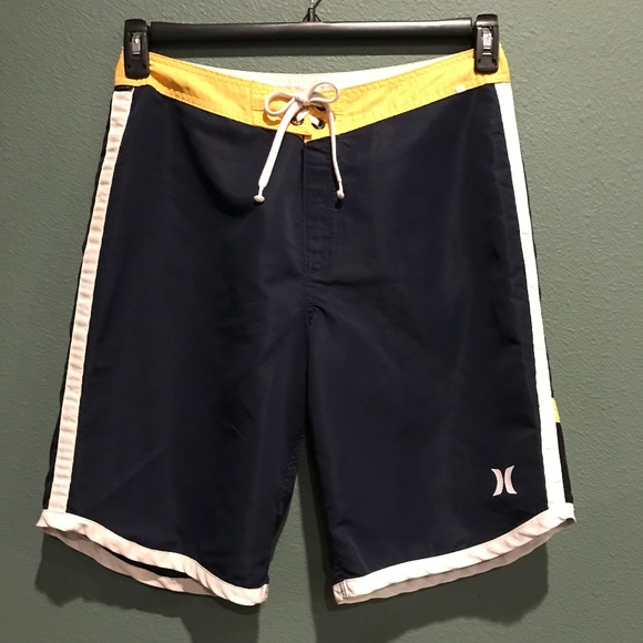 5c0d67e8d9 Hurley Swim | Mens Navy Blue Board Shorts 33 Waist | Poshmark